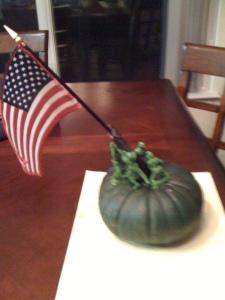 Iwo Jima Pumpkin